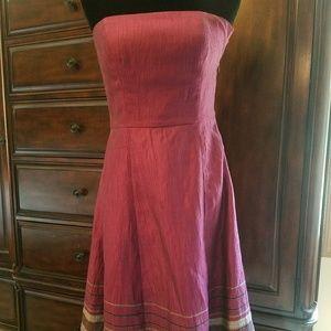 LOFT Dresses - Sale! Strapless Purple Loft Dress size 4